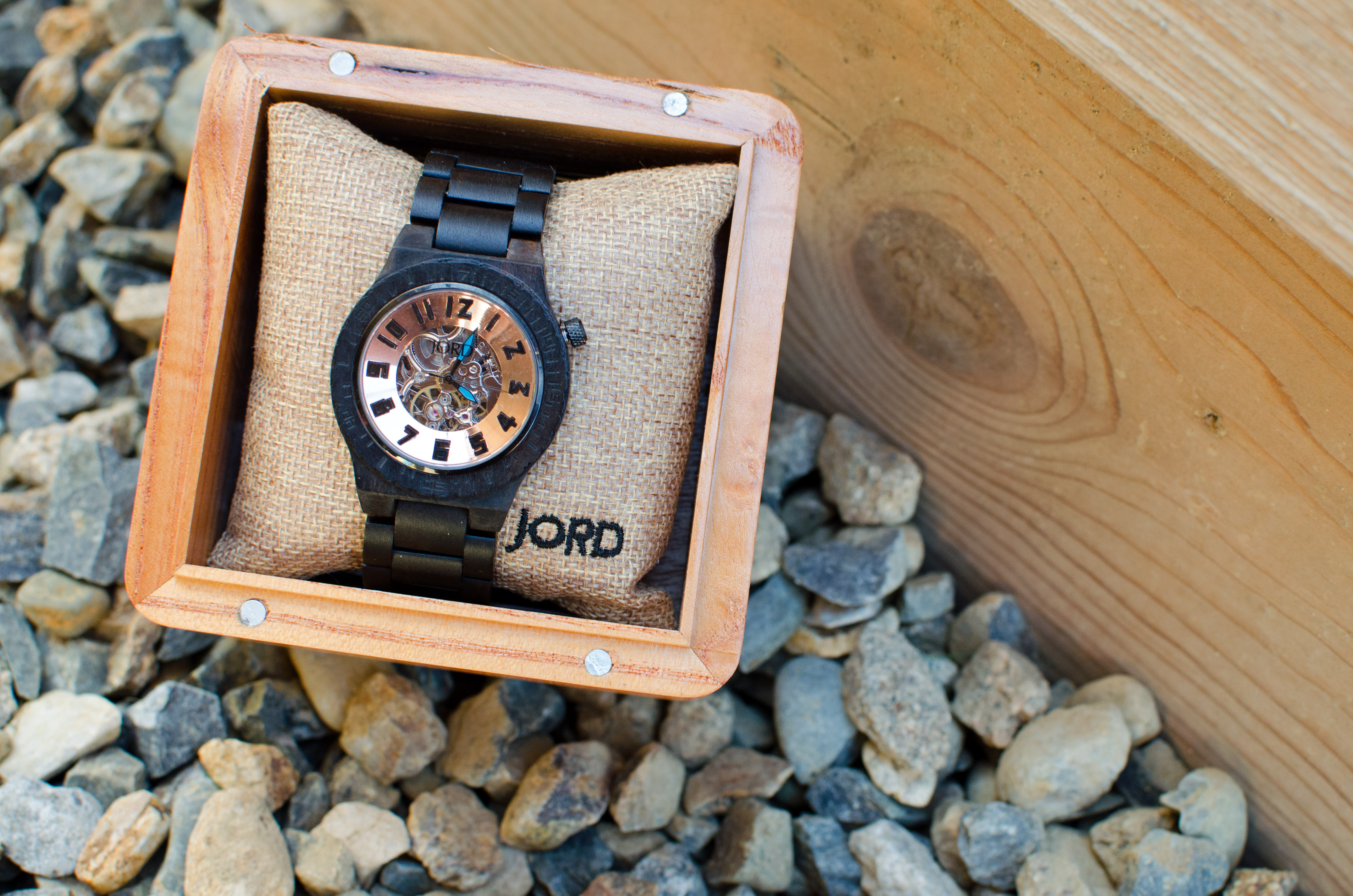 Jord Wood Watch Dover Ebony and Cooper 4